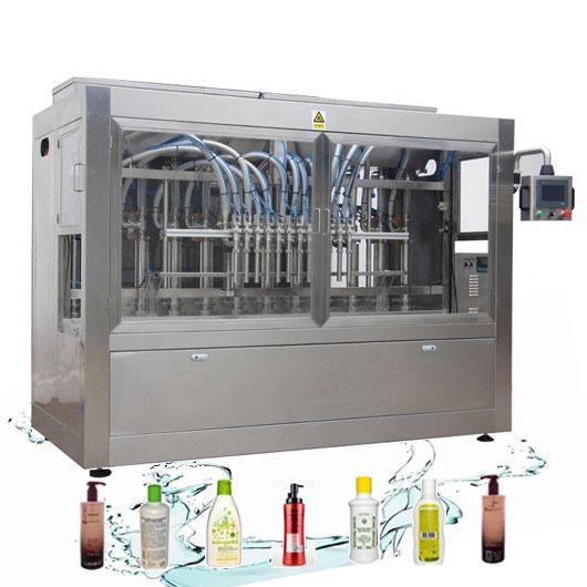 Ligne de remplissage liquide automatique résistant à la corrosion Machine de remplissage de détergent à lessive