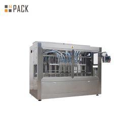 Machine de remplissage de bouteilles de métal liquide / machine de remplissage et de capsulage de bouteilles de gel de cheveux