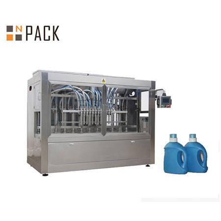 Machine de remplissage liquide automatique de bouteille de gel de douche de détergent liquide