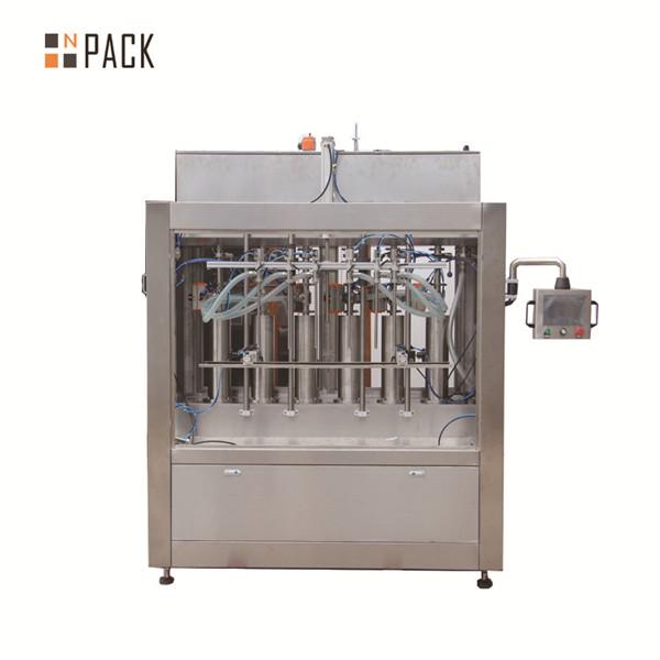 Machine de remplissage liquide de pâte de crème pneumatique pour le remplissage de bouteilles