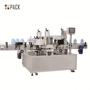 Machine à étiquettes durable de bouteille de grande capacité pour les bouteilles plates détergentes
